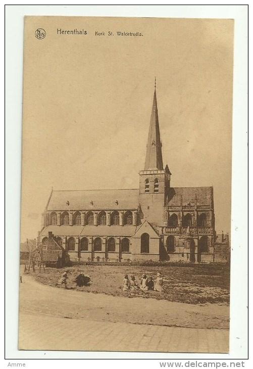 Herentals  - Herenthals     *   Kerk Sinte Waldetrudis - Herentals
