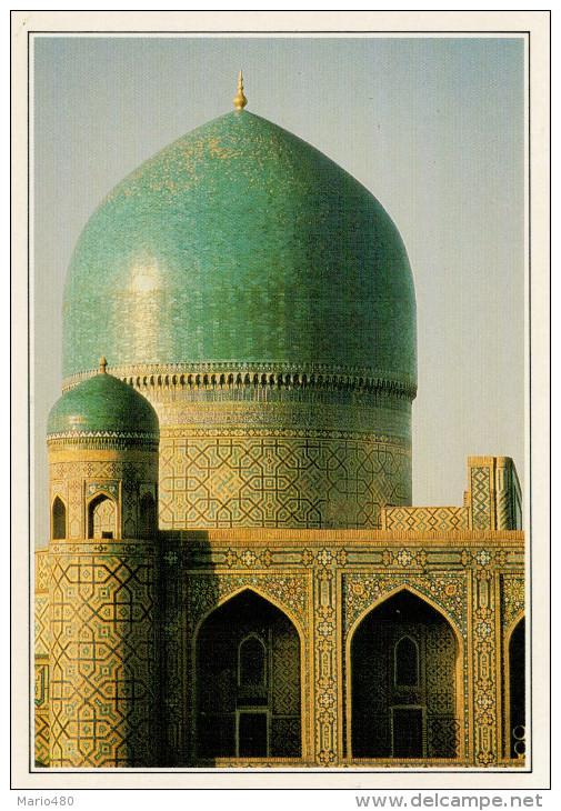 UZBEKISTAN: SAMARCANDA   REGISTAN        (NUOVA CON DESCRIZIONE DEL SITO SUL RETRO) - Uzbekistan