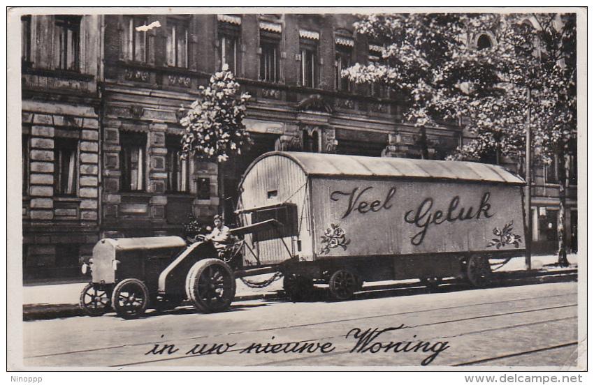Netherlands 1937 Used Postcard - Postal Stationery