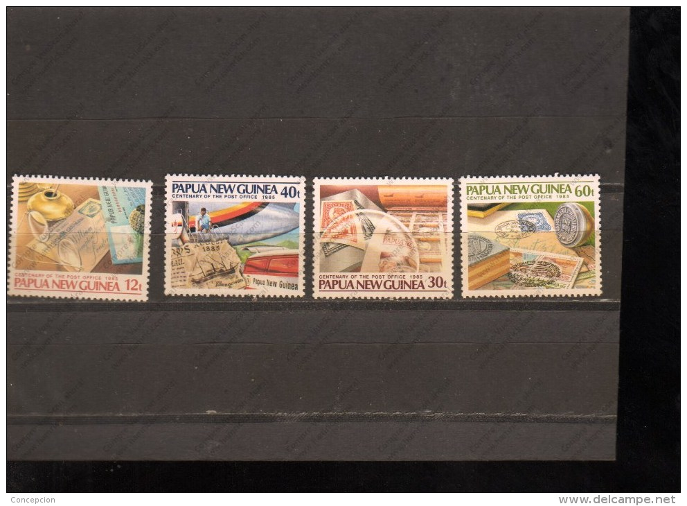 PAPUA NUEVA GUINEA Nº 503 AL 506 - Correo Postal