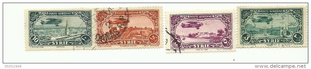 53/56  AVION SURVOLANT DES PAYSAGES    (pag3) - Syrie (1919-1945)