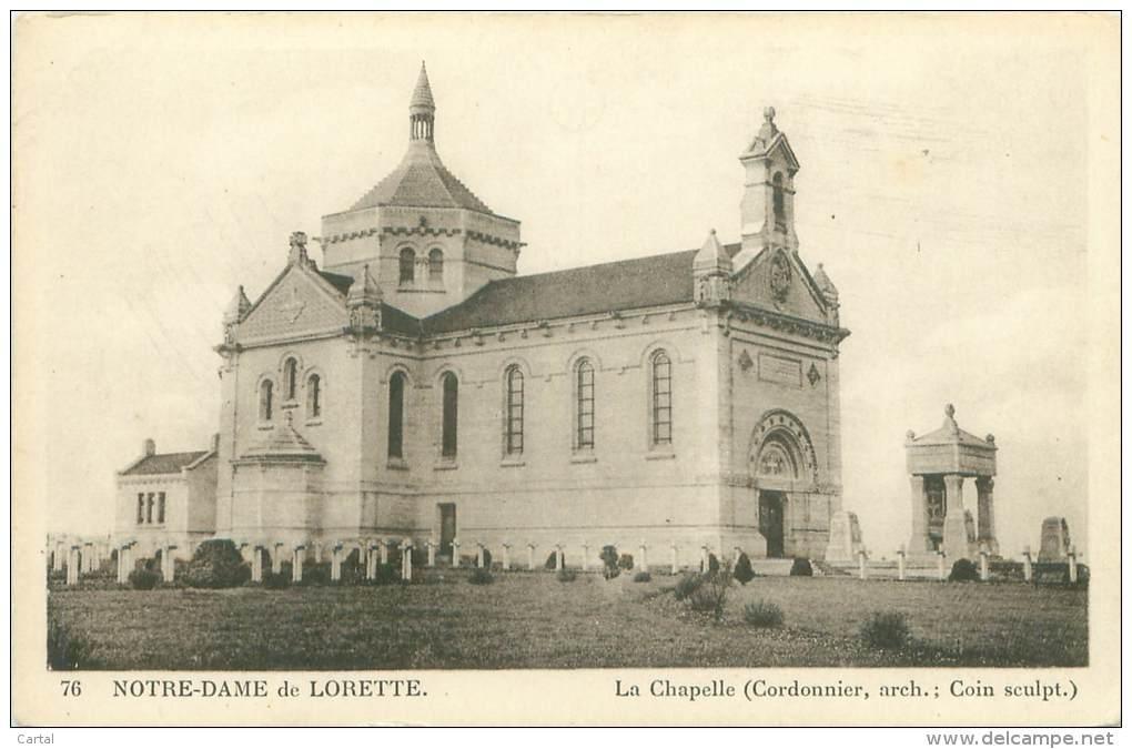 62 - NOTRE-DAME-de-LORETTE - La Chapelle - France