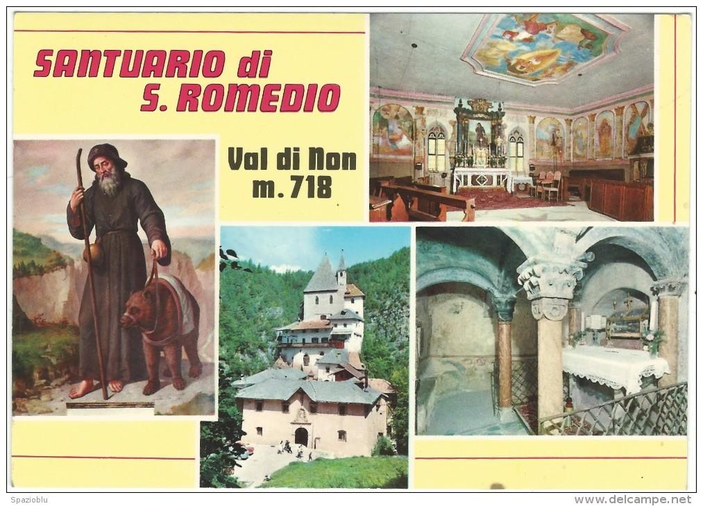 Trento, Santuario Di S.Romedio - Val Di Non. - Trento