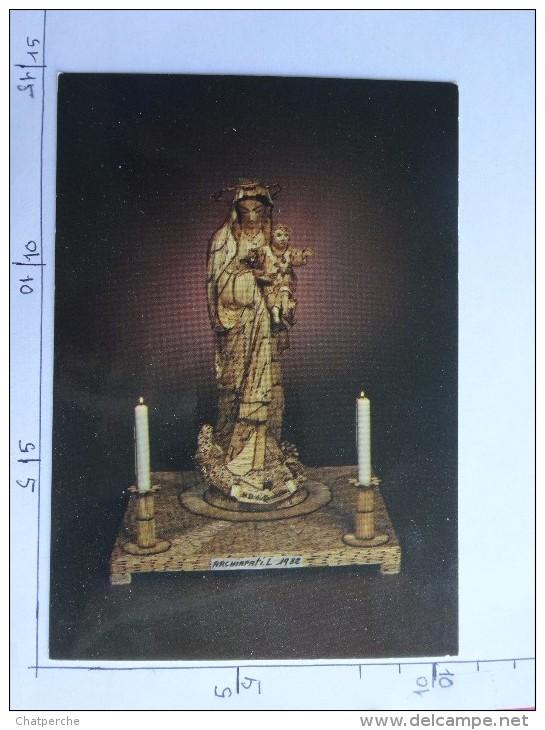 RELIGION NOTRE DAME DU SACRE COEUR REALISEE EN ALLUMETTES 7000 LUCIEN ARCHIAPATI 1982  ED. BEAUMONT - Vergine Maria E Madonne