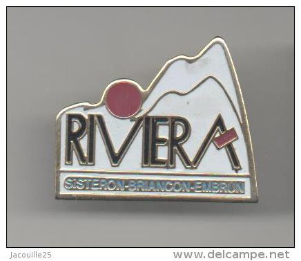 PINS PIN'S VILLE REGION ALPES HAUTES ALPES SISTERON  BRIANCON EMBRUN RIVIERA - Cities