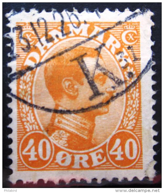 DANEMARK              N° 144                OBLITERE - Used Stamps