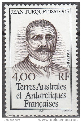 TAAF 1997 Yvert 217 Neuf ** Cote (2015) 1.70 Euro Jean Turquet - Französische Süd- Und Antarktisgebiete (TAAF)