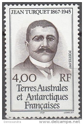 TAAF 1997 Yvert 217 Neuf ** Cote (2015) 1.70 Euro Jean Turquet - Terres Australes Et Antarctiques Françaises (TAAF)