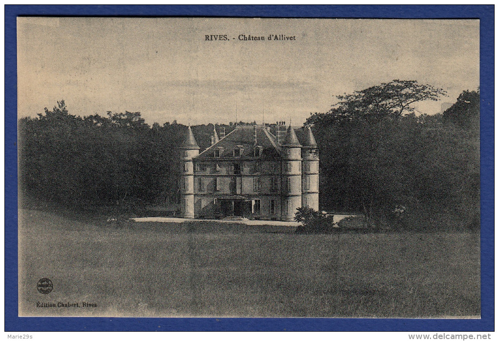 38 RENAGE Château D'Alivet - Renage