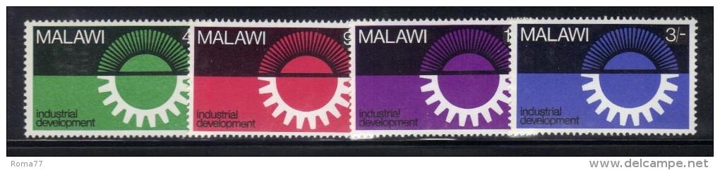 CI963 - MALAWI 1967, Serie N. 72/75  *** MNH . - Malawi (1964-...)
