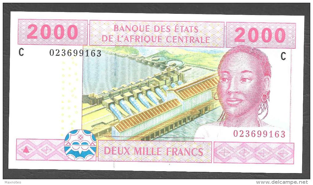 CHAD (Central African States ) : 2000 Francs - 608C - UNC - Gabon