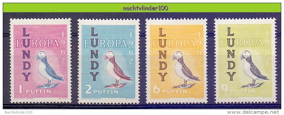 Naa1595 FAUNA VOGELS PUFFIN BIRDS VÖGEL AVES OISEAUX LUNDI 1962 ONG/MH - Local Issues