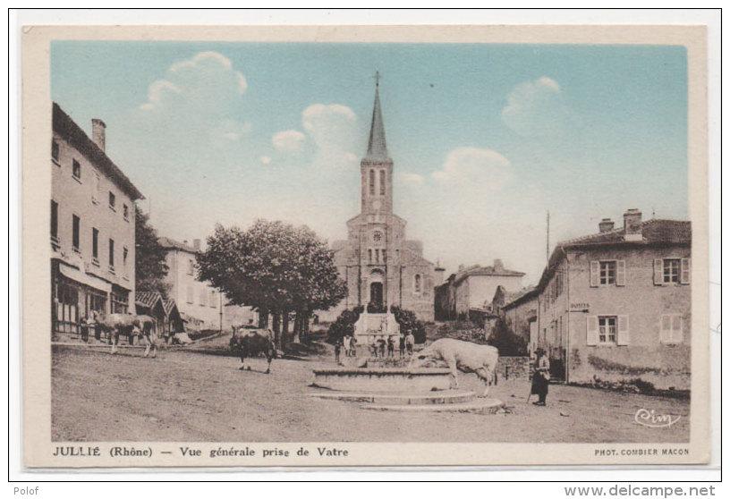 JULLIE - Vue Générale Prise De VATRE   (78499) - Autres Communes