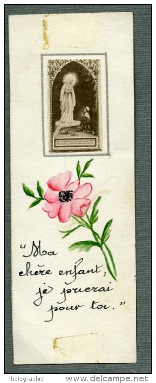 France Religion Image Pieuse Canivet Photo Albumine Sur Papier 1880 - Devotion Images