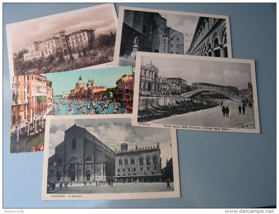 == Italy    5 Old Cards - Ansichtskarten