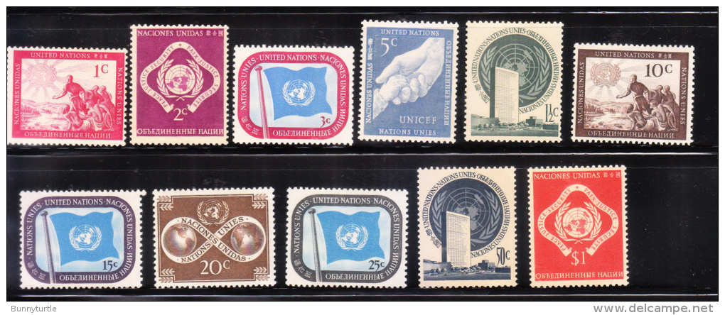 UN 1951 Unity Peace MNH/Mint - Ungebraucht