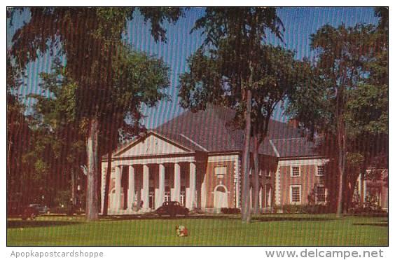 New York Saratoga Springs The Saratoga Spa Drink Hall - Saratoga Springs