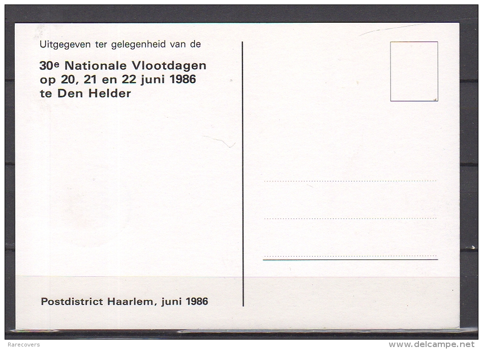Nationale Vlootdagen Submarine 1986 (ai1) - 1980-... (Beatrix)
