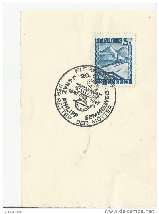 =AT SST 1947 - Poststempel - Freistempel
