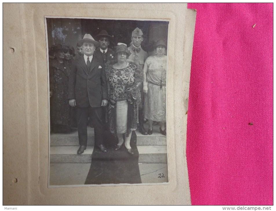 Album De Photos Mariage Photographe La Parisienne R.lohy Paris- --belle Toilette-chapeau)epoque A Identifier - Anonymous Persons