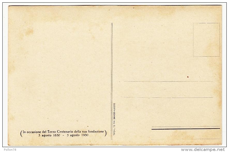 B. VERGINE DI LORETO, CHE ESISTE NELLA CHIESA DELLA MADONNINA DI VENDROGNO - LECCO - 1930 - Vedi Retro - Formato Piccolo - Lecco