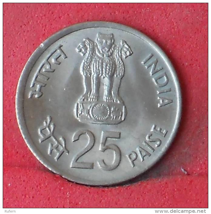 INDIA  25  PAISE  1982   KM# 52  -    (Nº12000) - India