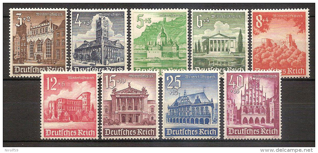 Germany 1940 - Buildings - Germany
