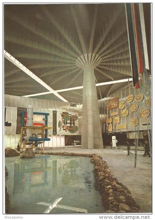 B3832 Torino - Interno Del Palazzo Del Lavoro Mostra Italia 61 - Celebrazione Centenario Unità D´Italia 1961 - Expositions