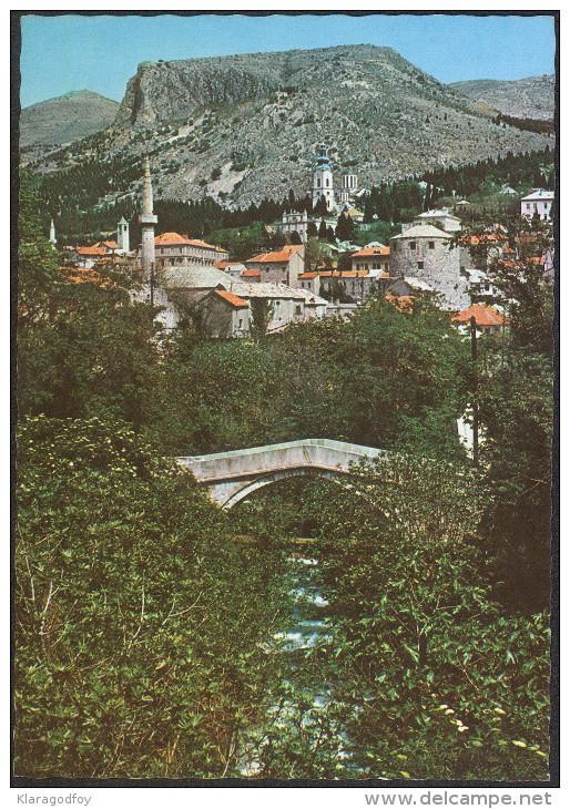 Mostar Postcard Not Travelled Bb - Bosnie-Herzegovine