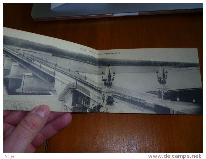 BP1-10-1 Carte Panoramique Pont Canal De Briare Sur La Loire - Briare