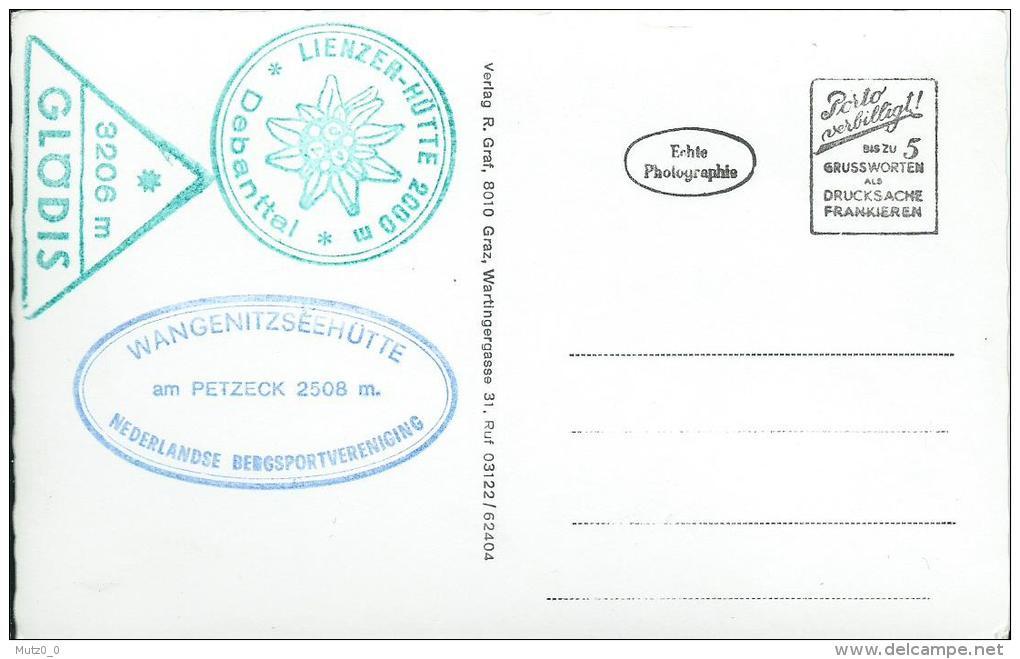 AK 0146  Lienzer Dolomiten , Ainet  - Schobergruppe , Gartlsee Am Leibnigtörl Mit Gr. U. Kl. Prijakt Um 1960 - Lienz