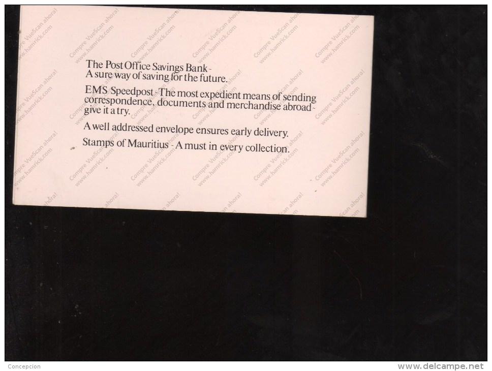 MAURITIUS Nº C 886 - Correo Postal