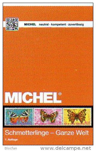 Topics Schmetterlinge Ganze Welt MICHEL Motiv-Katalog 2015 New 64€ Color Butterfly Catalogue The World 978-3-95402-109-3 - Minerals & Fossils