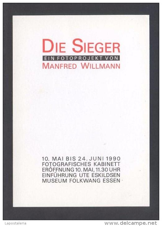 *Manfred Willmann - Die Sieger* Impreso Flyer. - Exposiciones