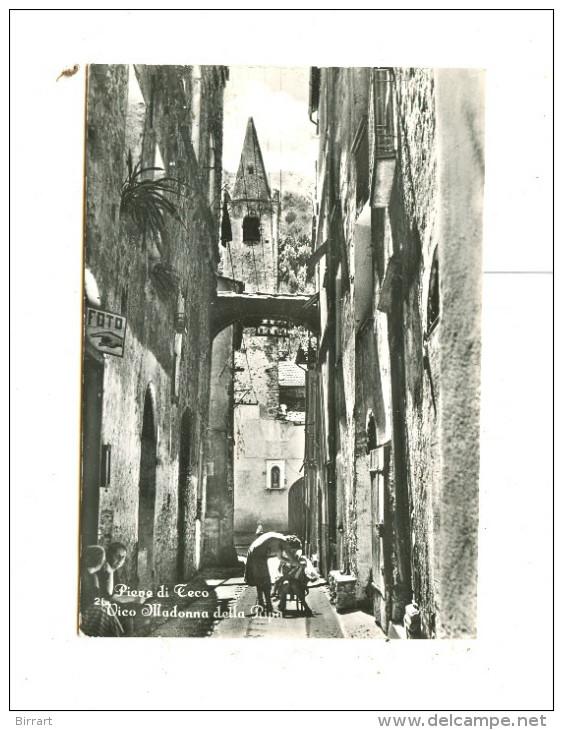 PIEVE DI TECO,Vico Madonna Della Ripa-1965-Persone-Animata-!!!!! - Imperia