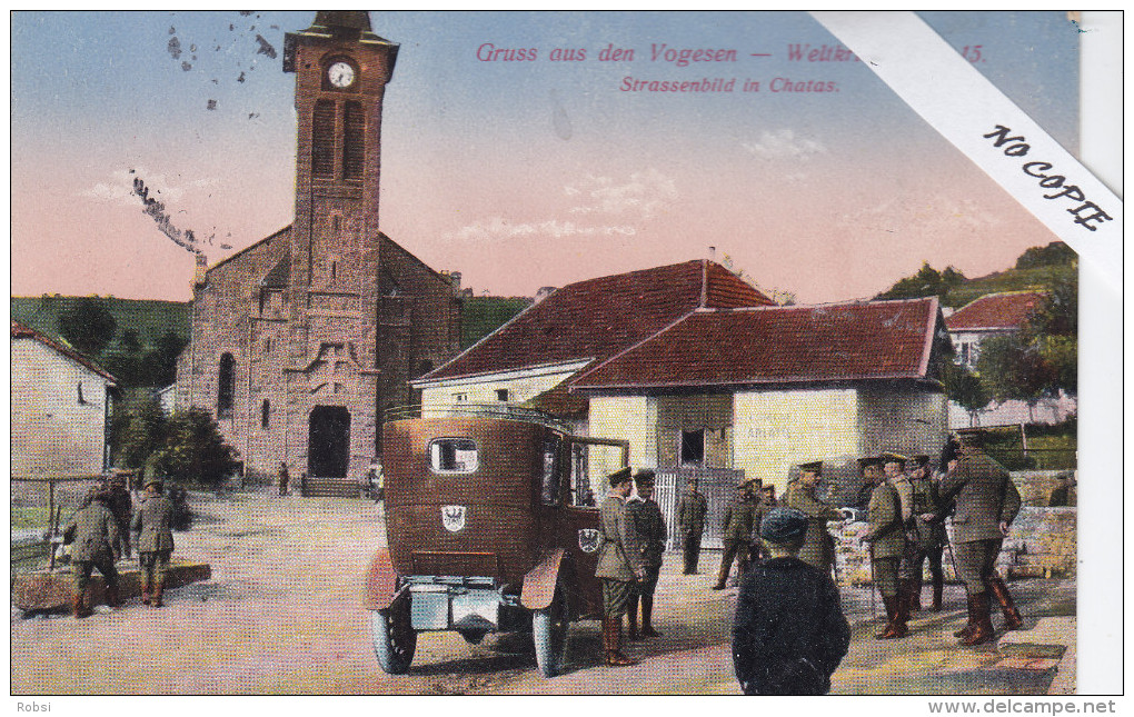 Vosges (88)  Chatas, Animation Auto, Cachets - Colroy La Grande