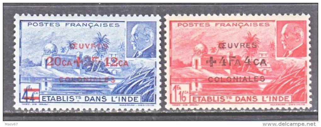A.O.F.   B 13   B-C    *    VICHY - India (1892-1954)