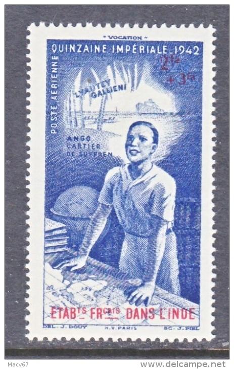 A.O.F.   CB 3   **    VICHY - India (1892-1954)