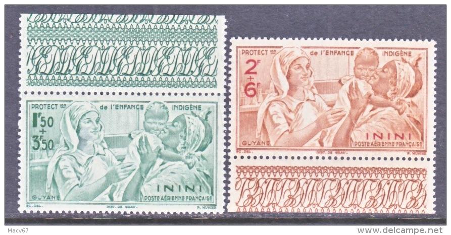 ININI  CB 1-2   **    VICHY - Inini (1932-1947)