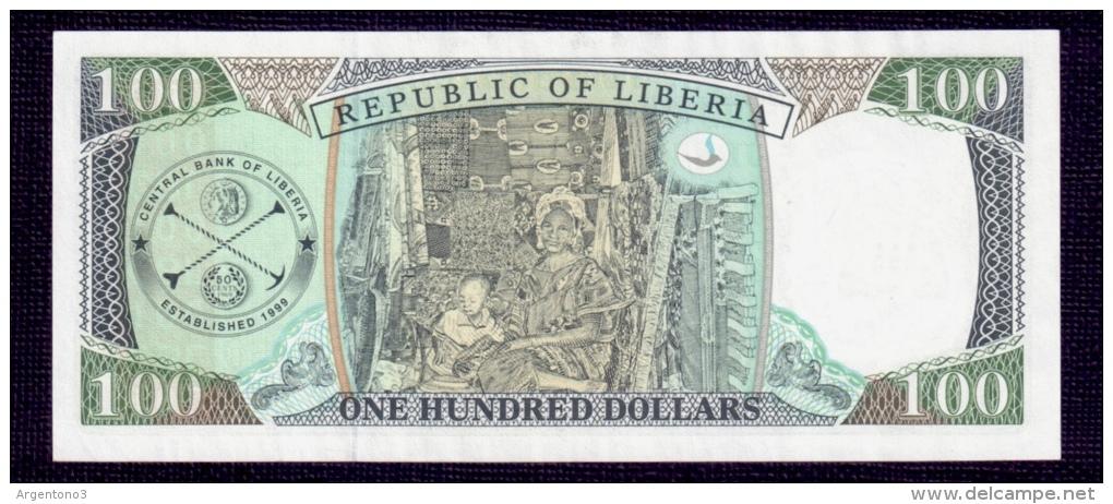 Liberia 100 Dollars 1999 UNC - Liberia