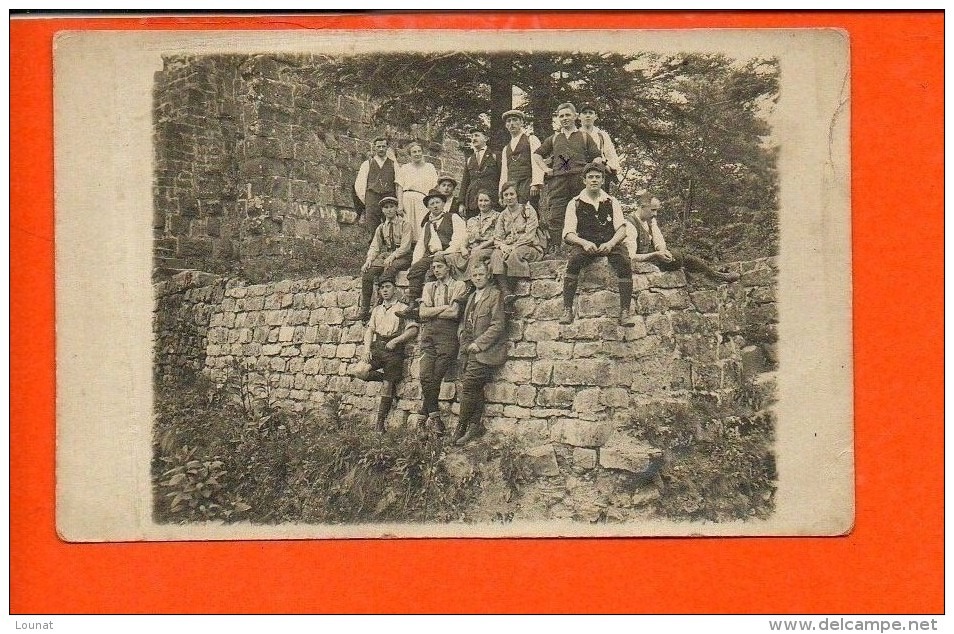 Carte Photo - Groupe - Année 1926 - Pfingsten (allemagne) - Cartes Postales