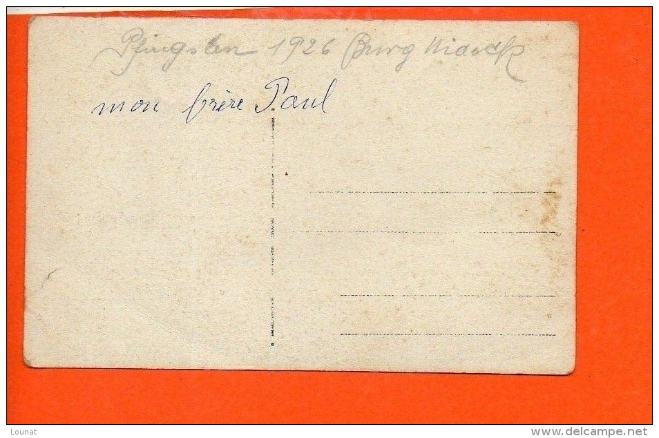 Carte Photo - Groupe - Année 1926 - Pfingsten (allemagne) - A Identifier