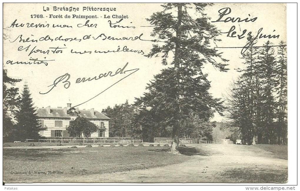 Forêt De Paimpont - Le Chalet - (a1825) - Paimpont