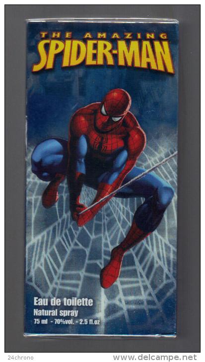 Spiderman:Eau De Toilette Natural Spray 75ML 70% Vol. 2.5 FL.OZ, The Amazing Spider.Man, Marvel 2008 (15-2254) - Parfum (neuf Sous Emballage)