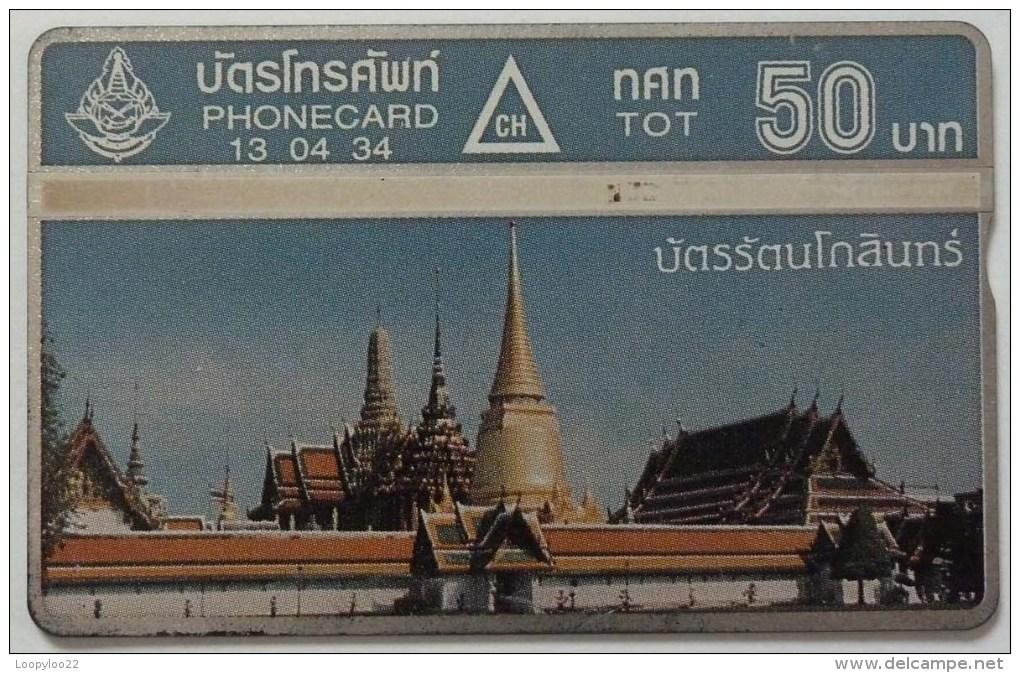THAILAND - L&G - 1st Issue - 105L - 50 Units - Grey - Used - Thaïlande