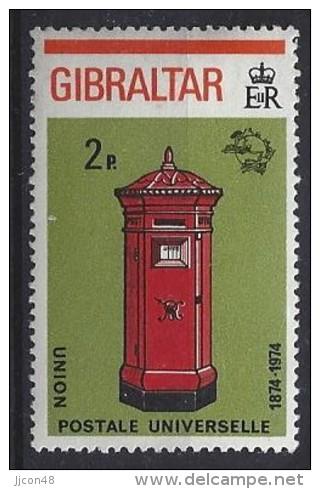 Gibralter 1974  (*)  MH  Mi.310 A - Gibraltar