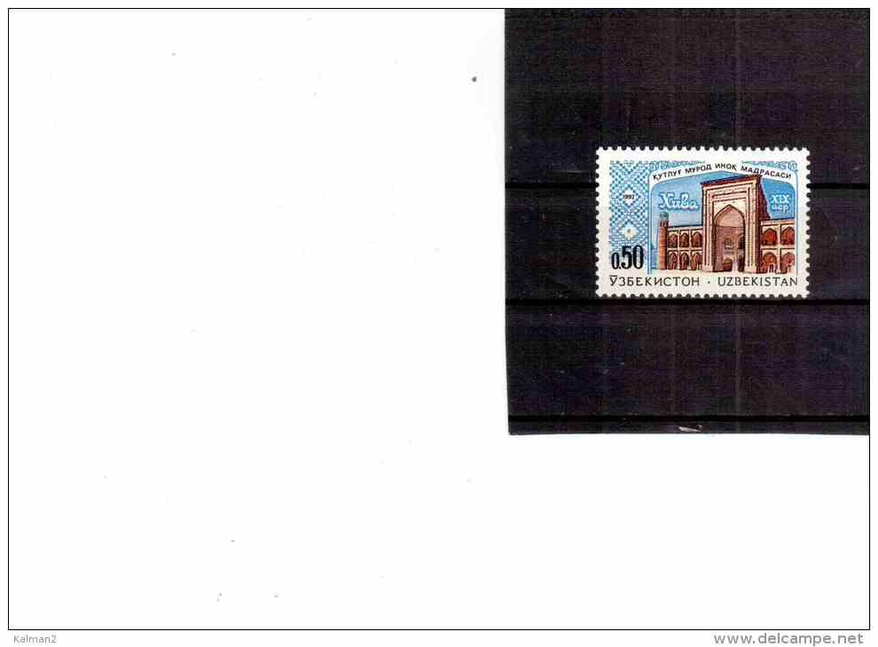 XX1295   -  UZBEKISTAN   -   MOSCHEA  ** MNH  /  CAT.UNIFICATO NR.  4 - Uzbekistan