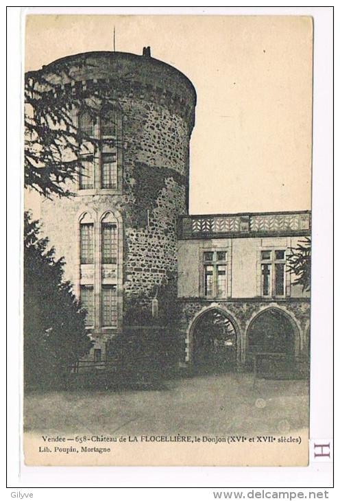 CPA ( 85) LA FLOCELIERE - Château -  (039) - Frankreich