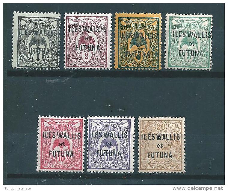 Timbres De Wallis Et Futuna  Timbres  De 1920  N°1  A  7  Neuf - Wallis Y Futuna