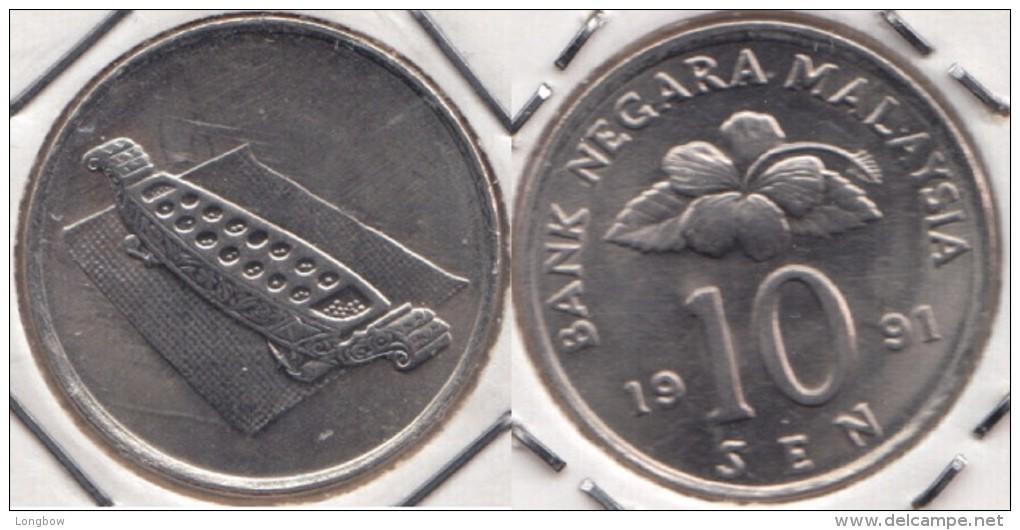 Malesia 10 Sen 1991 Km#51 - Used - Malesia